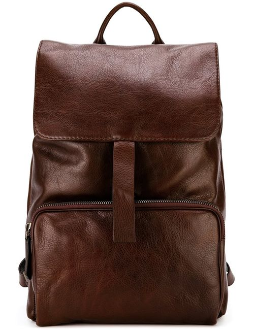 ZANELLATO | Мужское Розовый Buckled Backpack Calf Leather
