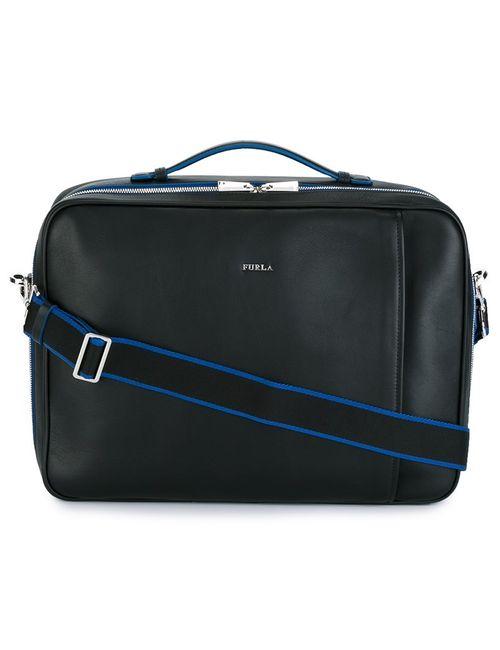 Furla | Мужское Чёрный Argo Backpack Briefcase Leather