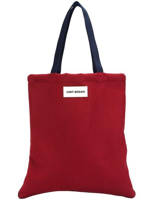 Umit Benan | Мужское Красный Shopper Tote Virgin Wool