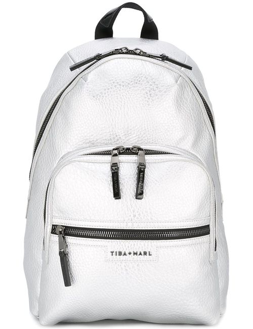 Tiba + Marl | Женское Серебристый Elwood Backpack