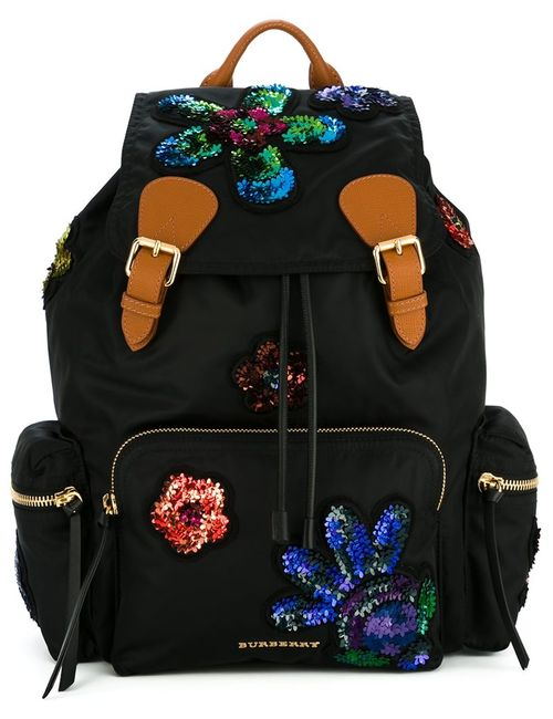 Burberry | Женское Чёрный Sequinned Patches Backpack