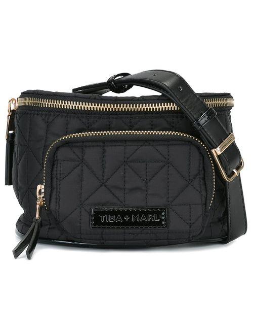 Tiba + Marl   Женское Чёрный Delphine Belt Bag