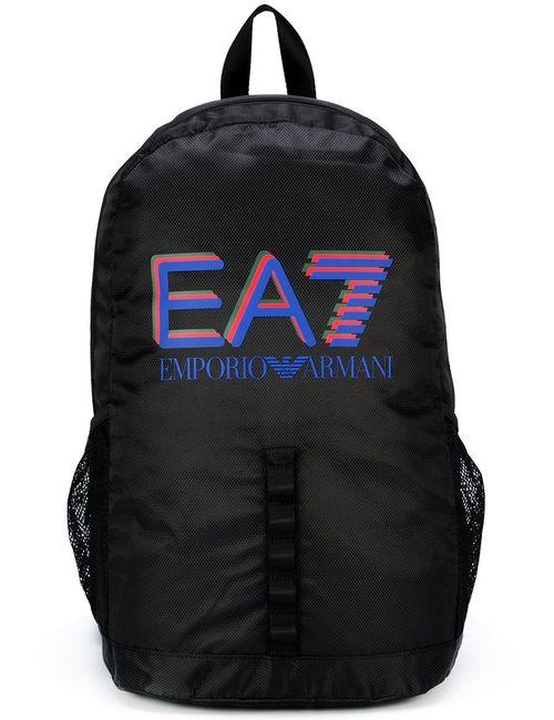 EA7 | Мужское Чёрный Logo Backpack Polyester