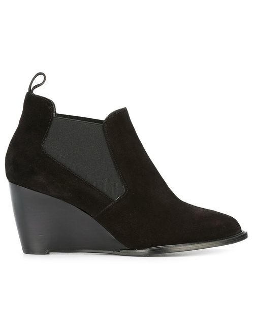 Robert Clergerie | Чёрный Olav Boots 37.5 Leather/Suede