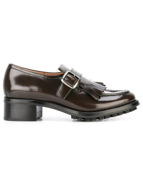 Church'S | Женское Коричневый Pilar Oxford Shoes 41 Leather/Rubber