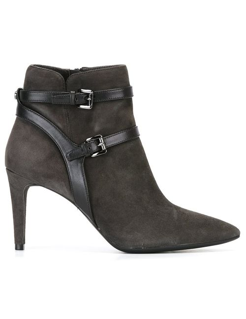Michael Michael Kors | Серый Fawn Boots 9 Cotton/Leather/Rubber