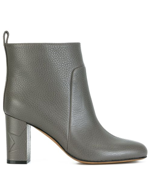 Golden Goose | Серый Deluxe Brand Anna Boots 36 Leather