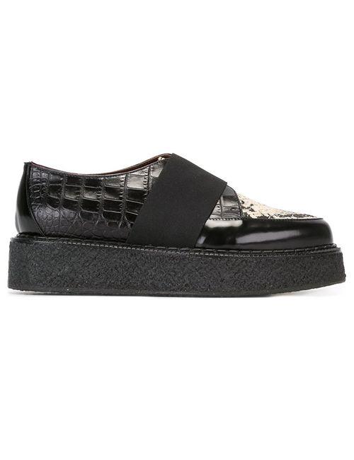 Antonio Marras | Чёрный Strap Detail Lace Up Shoes 39