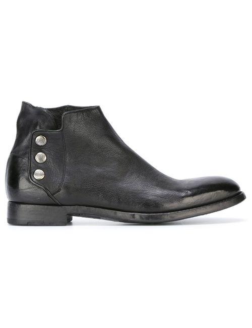 Alberto Fasciani | Чёрный Sasha Boots 40 Leather/Rubber