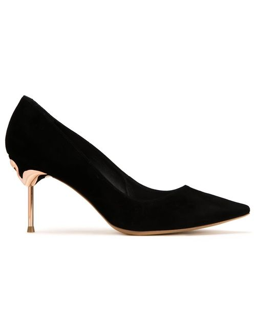 Sophia Webster | Чёрный Coco Flamingo Pumps 37 Leather/Suede