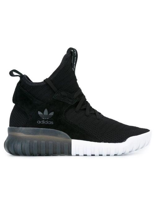 adidas Originals | Женское Чёрный Tubular X Primeknit Sneakers 40 Suede/Nylon/Rubber