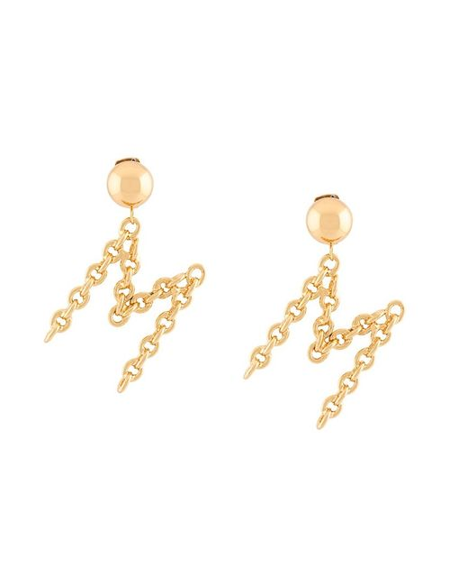 Moschino | Серебристый M Clip On Earrings