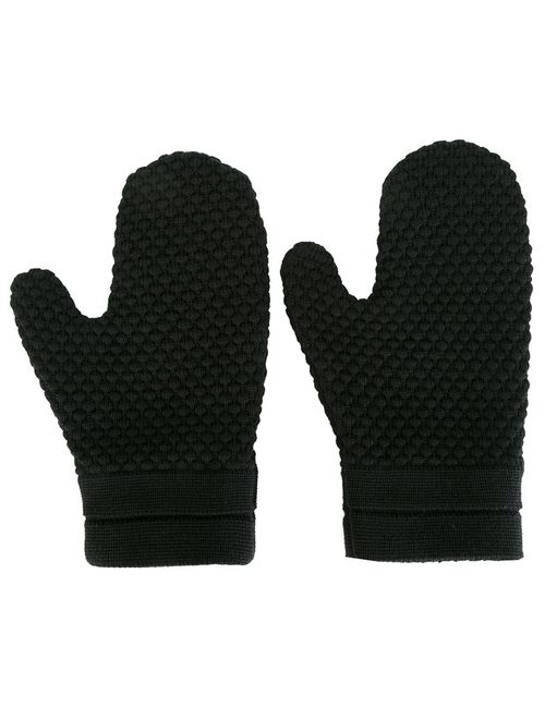 S.N.S. HERNING | Чёрный Final Mittens Medium Merino/Virgin Wool