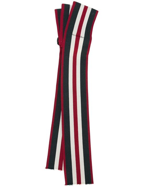 Dorothee Schumacher | Белый Striped Ribbon Hairband Polyester