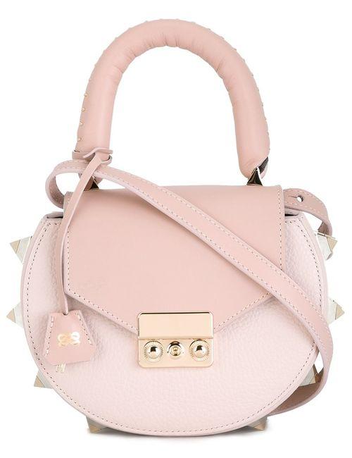 Salar | Женское Розовый Tonal Saddle Tote Bag
