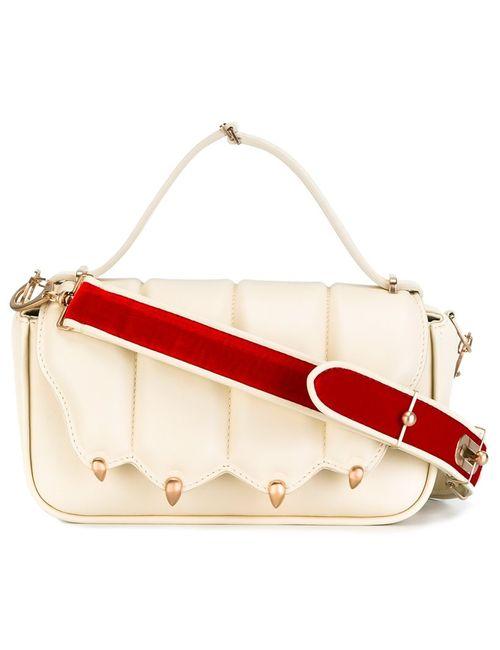 Marco De Vincenzo | Velvet Strap Shoulder Bag