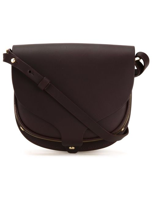 Sophie Hulme | Красный Mini Barnsbury Crossbody Bag