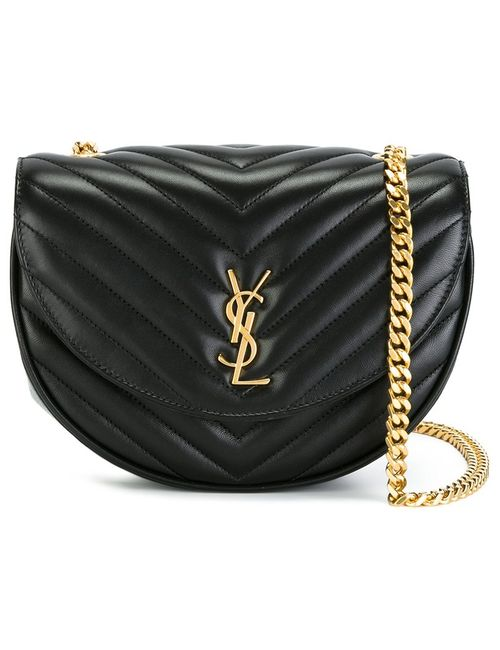 Saint Laurent | Женское Чёрный Monogram Bubble Crossbody Bag
