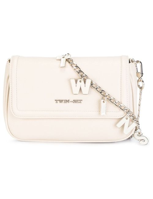 Twin-set | Женское Nude/Neutrals Lettered Chain Crossbody Bag