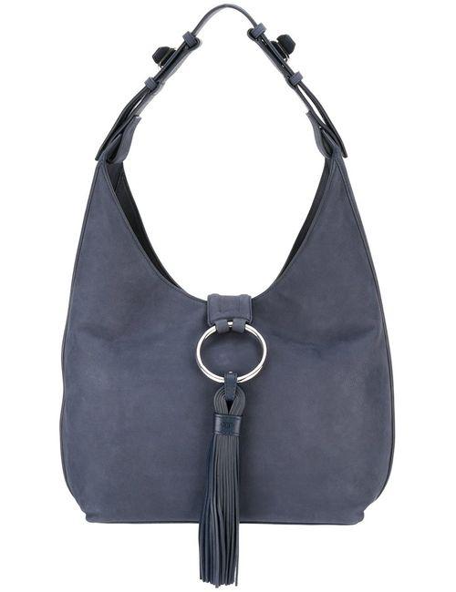 Tory Burch   Синий Tassel Detail Shoulder Bag