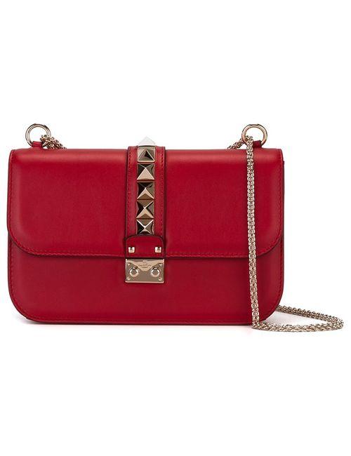 Valentino | Женское Красный Glam Lock Shoulder Bag