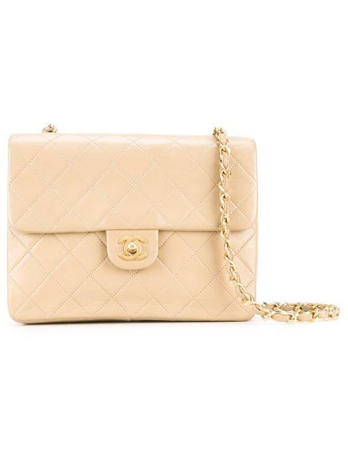 Chanel Vintage | Женское Коричневый Quilted Shoulder Bag