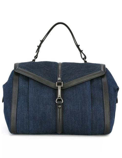 Diesel   Женское Синий Flap Closure Tote Bag