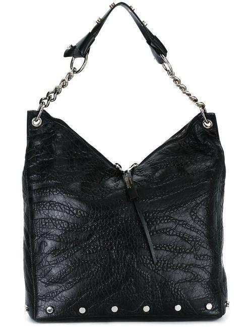 Jimmy Choo | Черный Raven Shoulder Bag