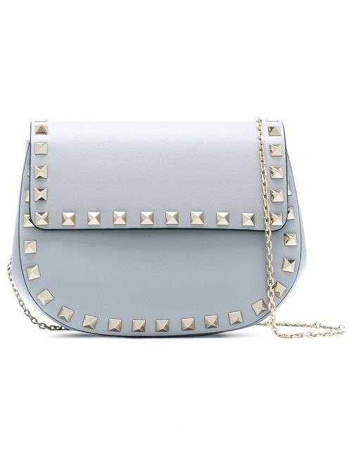 Valentino | Серый Rockstud Crossbody Bag