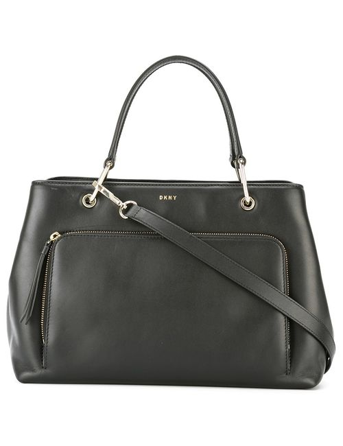 DKNY | Женское Чёрный Zip Pocket Tote