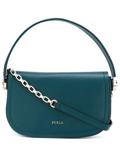 Furla | Женское Зелёный Chain Strap Saddle Bag