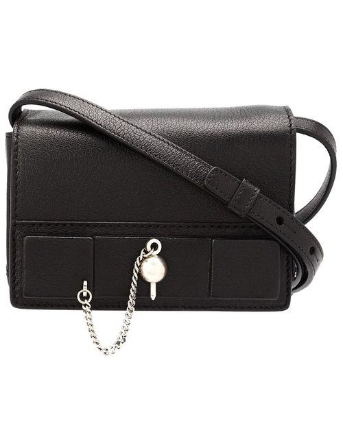 Anthony Vaccarello   Черный Mini Crossbody Bag