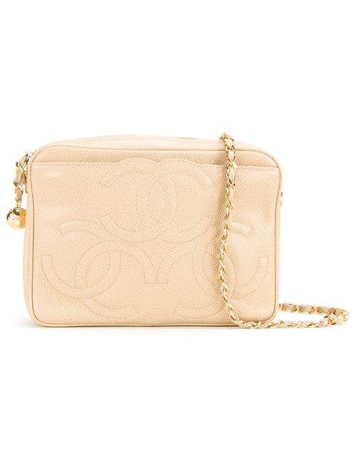 Chanel Vintage | Женское Коричневый Embossed Logo Shoulder Bag