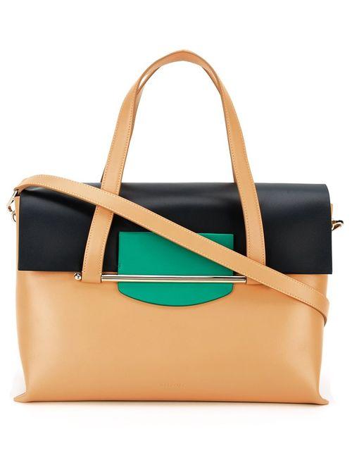 Delpozo | Коричневый Medium Tote Bag