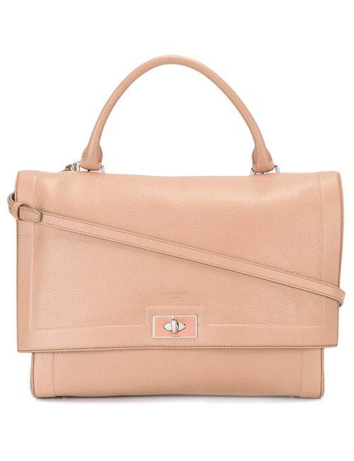 Givenchy   Женское Розовый Medium Shark Bag