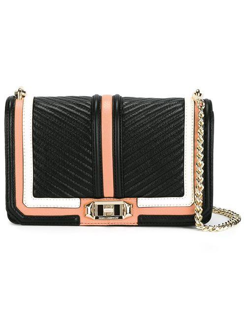 Rebecca Minkoff | Женское Чёрный Stitching Detail Shoulder Bag