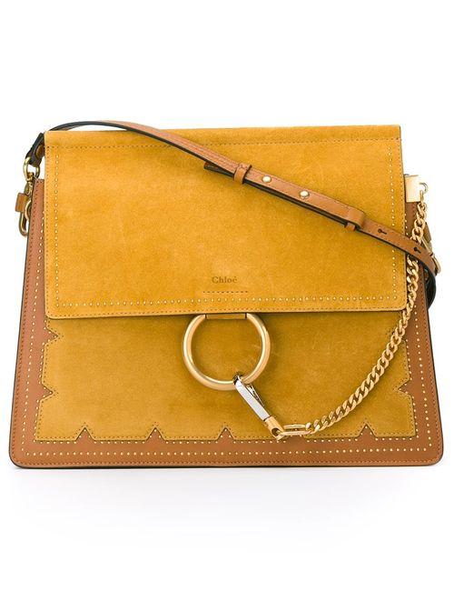 Chloe | Женское Желтый Chloé Studded Faye Shoulder Bag