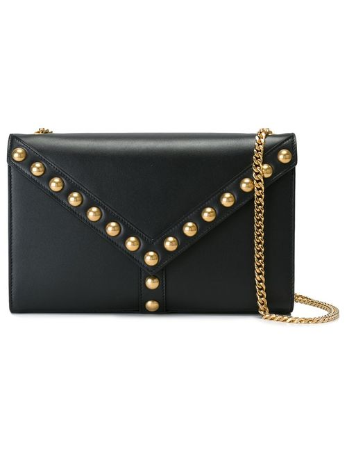 Saint Laurent | Женское Чёрный Small Y Studs Shoulder Bag