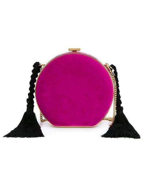Alessandra Rich | Женское Розовый Tasselled Round Clutch