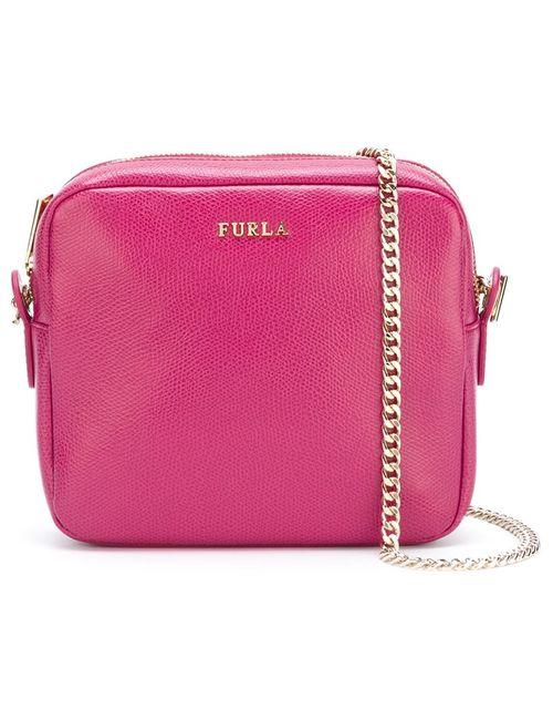 Furla | Женское Розовый Chain Strap Crossbody Bag