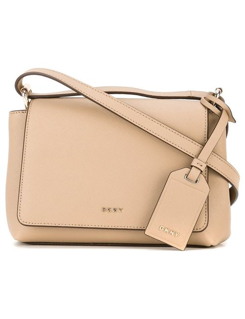DKNY | Женское Nude/Neutrals Flap Crossbody Bag