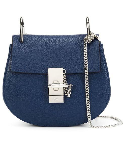 Chloe | Женское Синий Chloé Drew Shoulder Bag