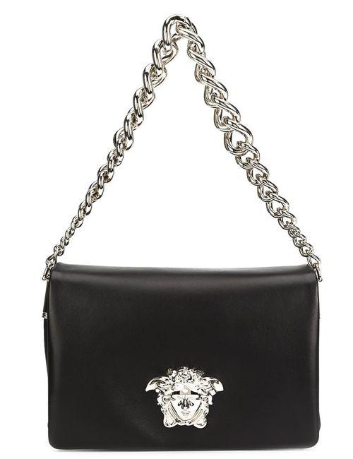 Versace   Черный Palazzo Medusa Sultan Bag