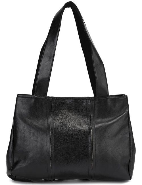 Yohji Yamamoto | Женское Чёрный Zipper Shoulder Bag