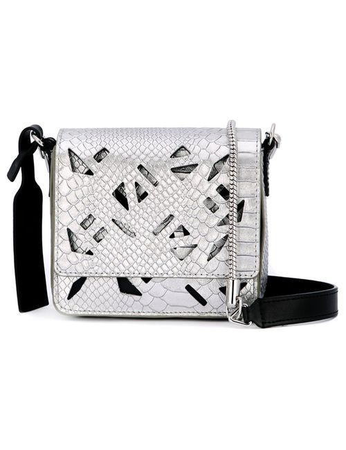 Kenzo | Женское Серебристый Mini Flying Shoulder Bag