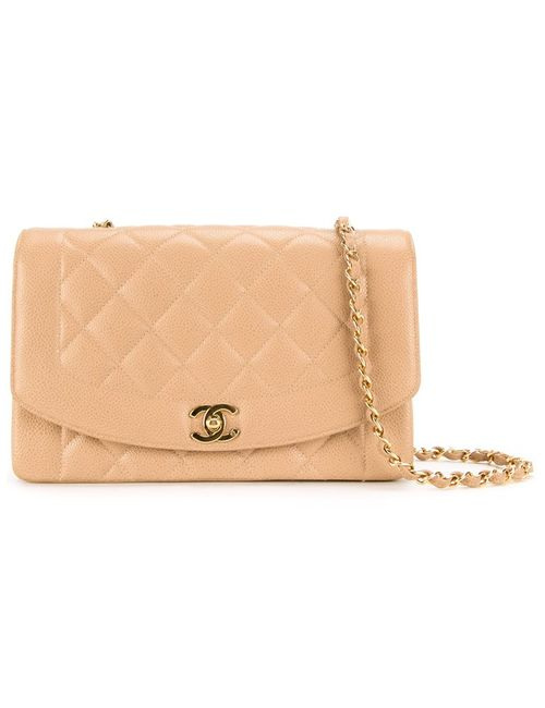 Chanel Vintage | Женское Коричневый Quilted Shoulder Bag