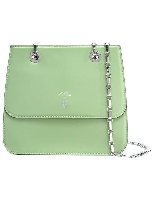 Mark Cross | Женское Зелёный Chain Strap Shoulder Bag