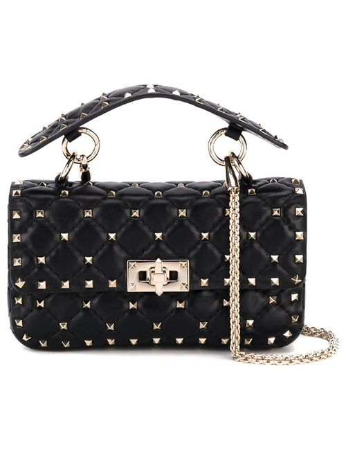 Valentino | Женское Чёрный Rockstud Spike Shoulder Bag