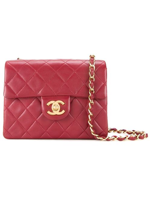 Chanel Vintage | Женское Красный Quilted Shoulder Bag