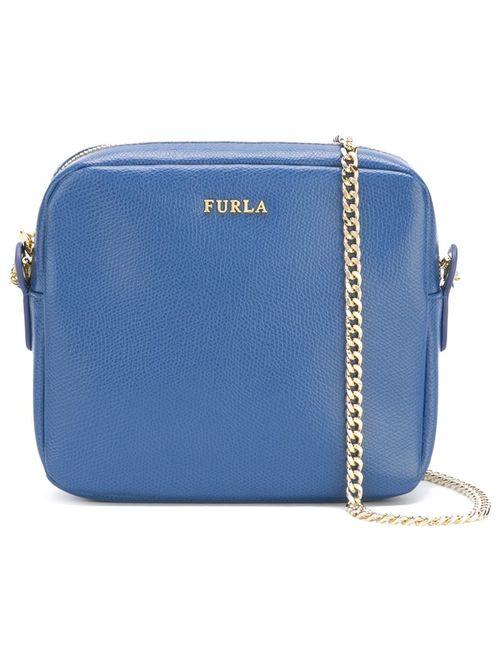 Furla | Синий Chain Strap Crossbody Bag